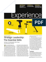 Strategic Leadership- The Essential Skills