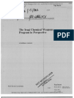 Intelligence Assessment of Iraqi Chemical Weapons Program