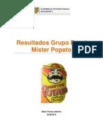 Resultados Grupo Focal Mister Potato