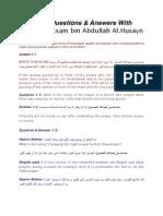 3 Q&A With Shaykh Hussam Bin Abdullah Al.husayn