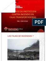 Criterios de Proteccion Contraincendios en Fajas Transportadoras