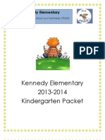 Back to School Packet 13-14 Publisher