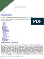 Rediscovering Catholicism _ Viva Catholic