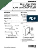ML7999 Shaft Adaptors