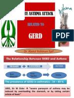 GERD (gastroesophageal refluks disease)
