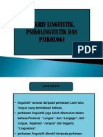 takrif linguistik