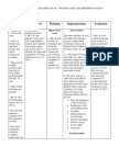 Health Teaching Plan - Wound Care and Dressing