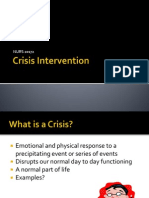 Crisis Intervention Ppt-1