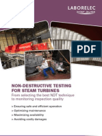 NDT for Steam Turbines