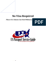 Where to Travel Without a Visa
