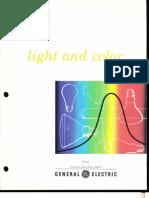GE Light & Color Brochure 1978
