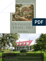 Overseer's Diary - 1861
