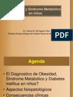 05 Obesidad , Sind. Metabolico y Diabetes Mellitus en niños - Dr. CARLOS DEL AGUILA