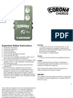 Tc Electronic Corona Chorus Manual English