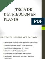 Estrategia de Distribucion en Planta
