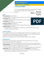IB Economics SL 3 - Elasticities