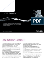 Fjord 2013 Trends