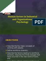Factors in Industrial Psychology