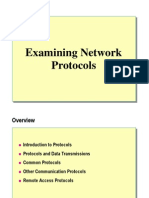 Examinig NetworkProtocols