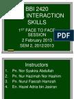 BBI2420 Course Summary
