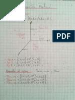 Resumen Geometría Vectorial