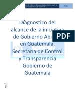 Diagnostico Gobierno Abierto Guatemala