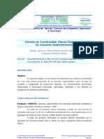 Estudio Factibilidad Planta