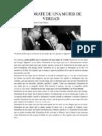 ENAMÓRATE DE UNA MUJER DE VERDAD