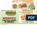 Fall Coupon Book