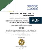 Control Del Motor de Induccion Con Redes Neuronales Artificiales