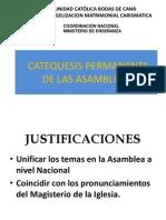Pe12 03. Jno 2012 -Catequesis en La Asamblea