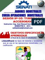 2013 - II - Opeind Sesion 05 - Tuberias