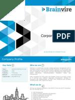 BrainVire InfoTech Corporate Profile