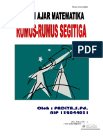 RUMUS-RUMUS SEGITIGA