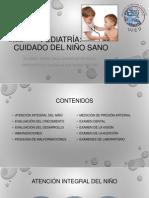 Pediatría cuidados del nño sano