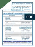 CMMI Documentation for Maturity Level 2