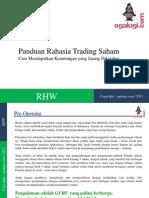 Rahasia Trading Saham