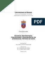 CONCEPCIONES Y EVALUACIÓN DE LOS