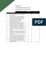 HAZOP Checklist for Pump Station