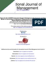 International Journal of Rural Management 2010 Marquardt 193 241