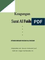 Keagungan Surat Al Fatihah