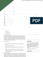 Time Study Sheet Sample