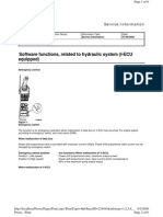Sofware Functions Related to Hydraulic Iecu Eqipped