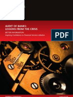 Audit of Banks Lessons From the Crisis 5 Jul 2010