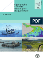 Advances in Geographic Information Systems and Remote Sensing for Fisheries and Aquaculture