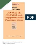 35676-EUSKADIE BEAUDELAIRE-Journal de Campagne Ou de Lengagement Idealiste Dun Modeste Citoyen-[InLibroVeritas.net]