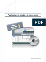 Application Gestion de Commande