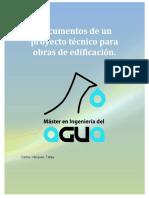 Documentos Tecnicos de Un Proyecto de Edificacion