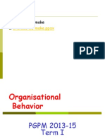 How Do People Behave in Organisations Intro