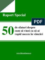 50 de Sfaturi Despre Cum Sa Vinzi CA Sa - Mircea